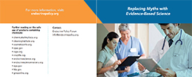 Replacing Myths with Evidence-Based Science – Pamphlet for Clinicians and Patients